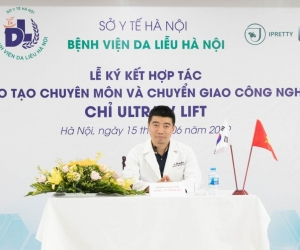 Lễ ký kết Đào tạo Chuyên môn & Chuyển giao Công nghệ UVL tại Bệnh viện Da Liễu Hà Nội