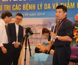 Chỉ Ultra V Lift tại Hội nghị Da liễu các tỉnh miền Bắc tháng 4/2019
