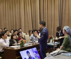 Ultra V Lift tham gia báo cáo tại Hội Nghị Da liễu Thẩm mỹ Toàn quốc lần 3