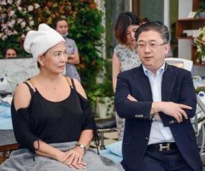 DR KWON HAN JIN GIỚI THIỆU FILLER BỘT CHỈ PDO VÀ CHUYỂN GIAO CÔNG NGHỆ LÀM CHỈ OCTO TWIST  TẠI SỰ KIỆN NGÀY 19/8/2018