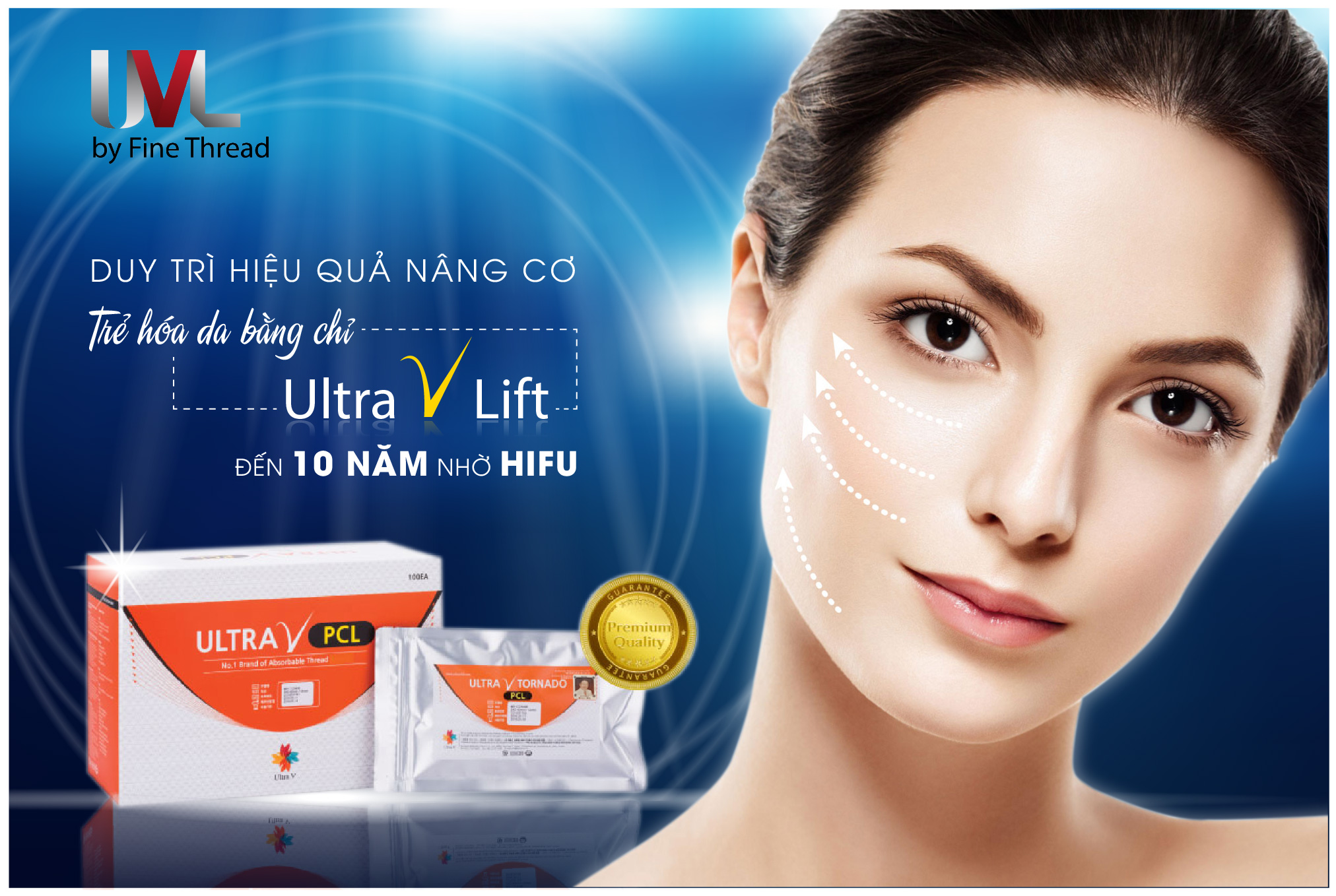 Hifu giúp duy trì hiệu quả nâng cơ, trẻ hóa da lên đến 10 năm mà không cần đến phẫu thuật